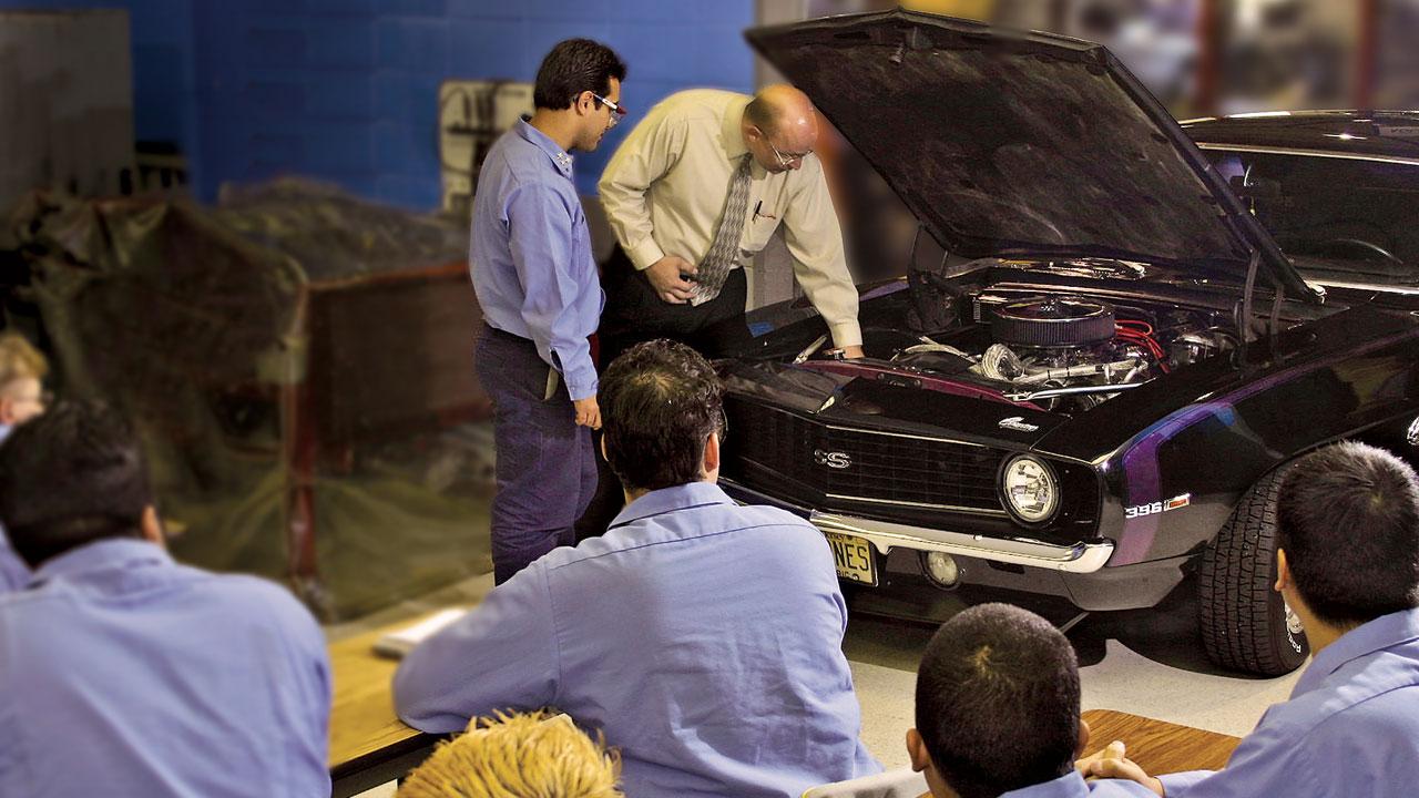 adult education car repair